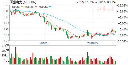 国投电力(600886)股票